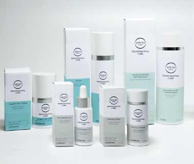 Kosmetikbedarf für Praxis