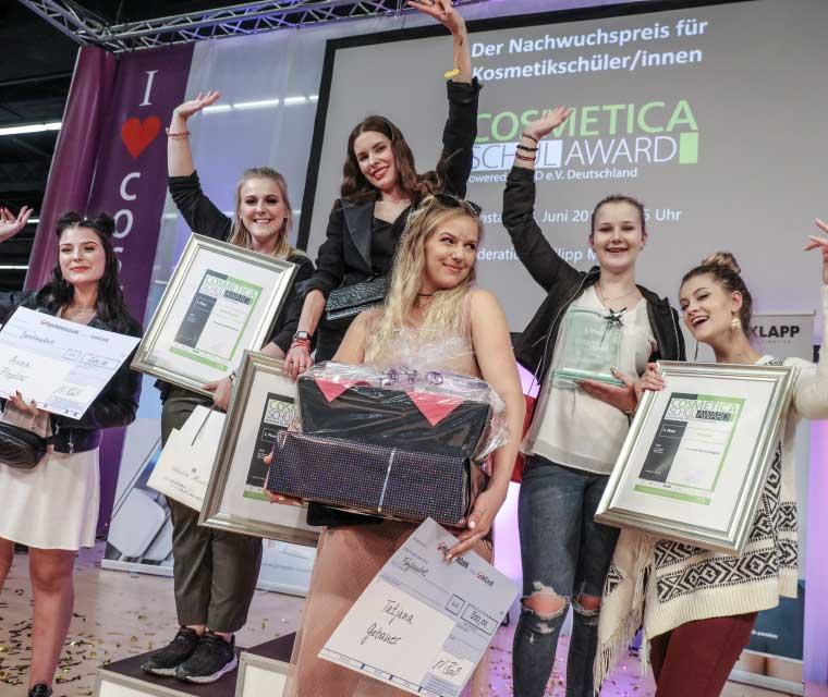 COSMETICA Schul-Award 2018