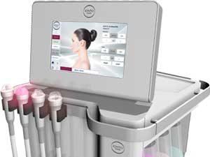 Gerät für die apparative Kosmetik für verschiedene Anwendungen
