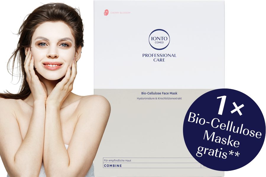 Zu den IONTO-COMED Professional Care Bio-Cellulose Masken