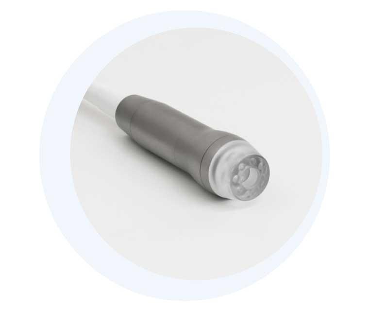 Handstück für das kosmetische Gerät GlowSolution von IONTO-COMED